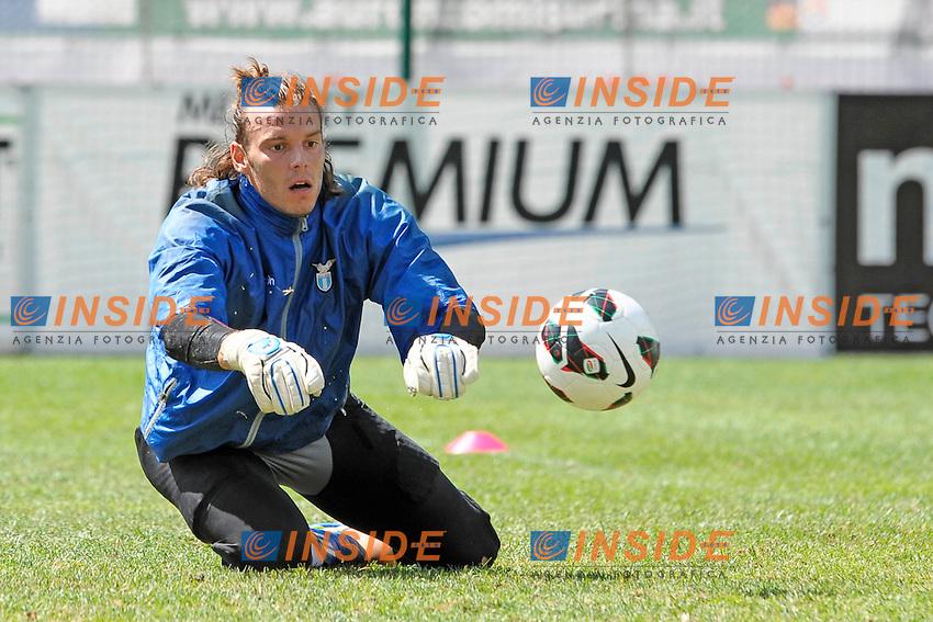 Federico Marchetti.Auronzo di Cadore 23/7/2012.Football Calcio 2012 / 2013 .Allenamento.Foto Insidefoto.
