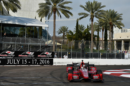 11-13 March, 2016, St Petersburg, Florida USA<br /> 15 Graham Rahal<br /> ©2016 Scott R LePage <br /> LAT Photo USA