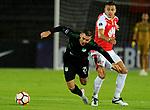 Independiente Santa Fe igualó 1-1 ante Deportivo Cali. Cuartos de final ida Conmebol Sudamericana 2018.