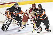 Eric Leroux, Tom May, Max Cousins - The Princeton University Tigers defeated the University of Denver Pioneers 4-1 in their first game of the Denver Cup on Friday, December 30, 2005 at Magness Arena in Denver, CO.