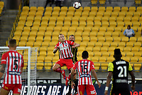 Melbourne City&rsquo;s Ritchie De Last and Wellington Phoenix&rsquo; Andrew Durante in action during the A League - Wellington Phoenix v Melbourne City FC at Westpac Stadium, Wellington, New Zealand on Saturday 26 January 2019. <br /> Photo by Masanori Udagawa. <br /> www.photowellington.photoshelter.com