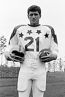 Ken Neilson 1970 Canadian Football League Allstar team. Copyright photograph Ted Grant/