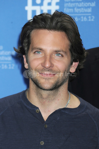 Bradley Cooper at the 'Silver Linings Playbook' Press Conference during the 2012 Toronto International Film Festival at TIFF Bell Lightbox on September 9, 2012 in Toronto, Canada.. Credit: Dennis Van Tine/MediaPunch