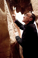 127 Hours (2010) <br /> Behind the scenes photo of Danny Boyle (Director)<br /> *Filmstill - Editorial Use Only*<br /> CAP/KFS<br /> Image supplied by Capital Pictures