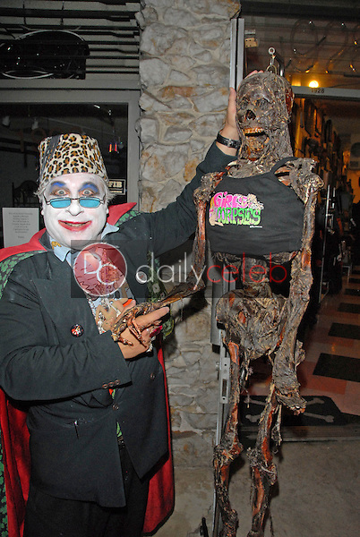 Count Smokula<br /> at the Magazine release party for GIRLS AND CORPSES, Vol. 3, Hyaena Gallery, Burbank, CA. 08-15-09<br /> David Edwards/Dailyceleb.com 818-249-4998