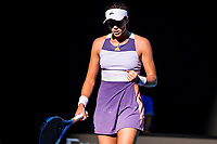 30th January 2020; Melbourne Park, Melbourne, Victoria, Australia; Australian Open Tennis, Day 11; Garbine Muguruza of Spain celebrates during the semifinals of the 2020 Australian Open on January 30 2020, at Melbourne Park in Melbourne, Australia. (Photo by Jason Heidrich/Icon Sportswire)