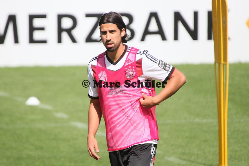Sami Khedira - Training der Deutschen Nationalmannschaft  zur WM-Vorbereitung in St. Martin