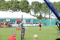 KAATSEN: PINGJUM: 04-09-2016, Hoofdklasse Kaatsen, Gert-Anne van der Bos (koning), Taeke Triemstra en Daniël Isege, ©foto Martin de Jong