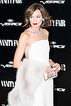 Nieves Alvarez attends the photocall organized by Vanity Fair to reward Placido Domingo as &quot;Person of the Year 2015&quot; at the Ritz Hotel in Madrid, November 16, 2015.<br /> (ALTERPHOTOS/BorjaB.Hojas)