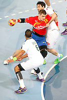 Handball world Championship Spain vs Algeria - Madrid