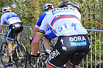 Peter Sagan (SVK) Bora-Hansgrohe climbs Taaienberg during the 2019 E3 Harelbeke Binck Bank Classic 2019 running 203.9km from Harelbeke to Harelbeke, Belgium. 29th March 2019.<br /> Picture: Eoin Clarke | Cyclefile<br /> <br /> All photos usage must carry mandatory copyright credit (© Cyclefile | Eoin Clarke)