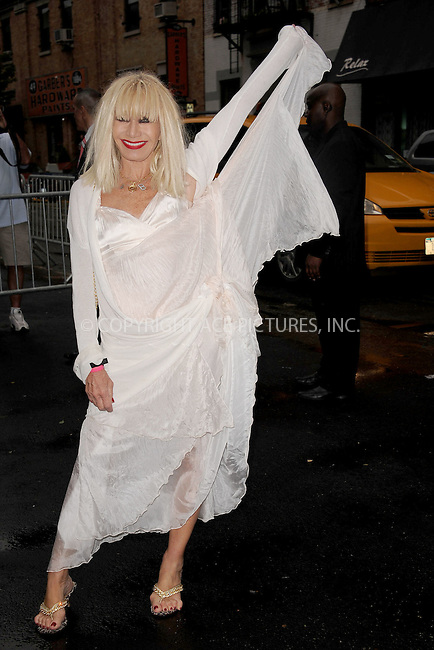 WWW.ACEPIXS.COM . . . . . .June 9, 2011...New York City...Betsey Johnson  enters the Stephan Weiss Studios on June 9, 2011 in New York City.  on June 9, 2011 in New York City.....Please byline: KRISTIN CALLAHAN - ACEPIXS.COM.. . . . . . ..Ace Pictures, Inc: ..tel: (212) 243 8787 or (646) 769 0430..e-mail: info@acepixs.com..web: http://www.acepixs.com .