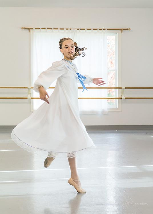 "Cary Ballet Company ""Visions Of Sugarplums"", Studio Rehearsal, Cary Ballet Conservatory,  Cary, North Carolina,  8 Dec 2012"