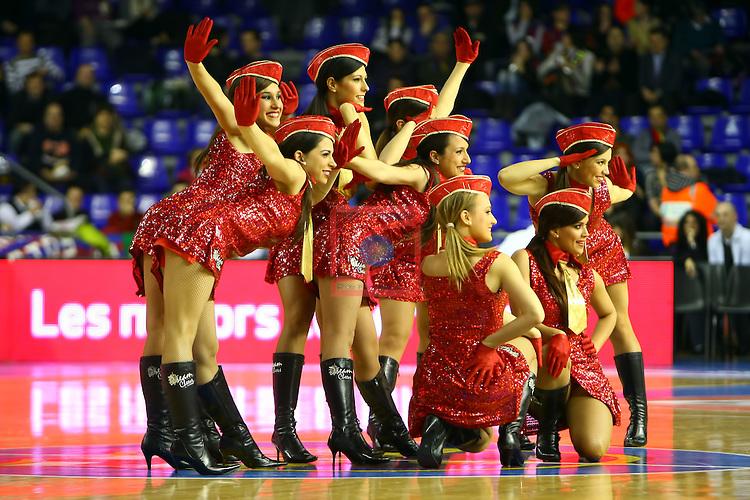 Cheerleaders Regal FC Barcelona