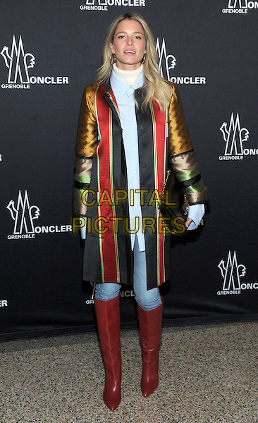 NEW YORK, NY - FEBRUARY 14:  Hekena Bordon attends the Moncler Grenoble fashion show during 2017 New York Fashion Week at The Hammerstein Ballroom on February 14, 2017 in New York City.   <br /> CAP/MPI/JP<br /> &copy;JP/MPI/Capital Pictures