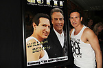 "Actor William DeMeo with himself and John Travolta - Brooklyn, New York celebratges Actor William DeMeo's upcoming role in Gotti film in which he plays Sammy ""The Bull"" Gravano in a block party on May 23, 2018 along with cast.  (Photo by Sue Coflin/Max Photos)"
