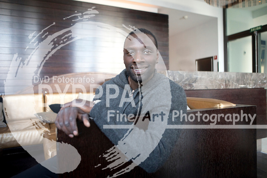 140/03/2013. Madrid. Spain. French actor Omar Sy portraits. Photo: F.J./ DyD Fotografos