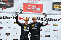 IMSA Continental Tire SportsCar Challenge<br /> Lime Rock Park 120<br /> Lime Rock Park, Lakeville, CT USA<br /> Saturday 22 July 2017 <br /> 25, Mazda, Mazda MX-5, ST, Chad McCumbee, Stevan McAleer<br /> World Copyright: Richard Dole<br /> LAT Images<br /> ref: Digital Image RD_LRP_17_01174