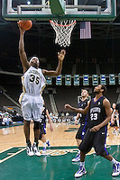 January 14, 2010:     Atlantic Sun conference game action between the Jacksonville Dolphins and the Lipscomb Bisons at Veterans Memorial Arena in Jacksonville, Florida.  Jacksonville defeated Lipscomb 79-73.
