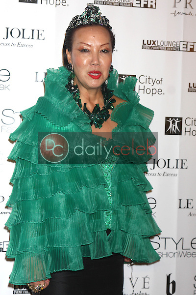 Sue Wong<br /> at Sue Wong's 'Fairies and Sirens' Fashion Show at L.A. Fashion Week. The Reef, Los Angeles, CA 10-15-14<br /> David Edwards/Dailyceleb.com 818-249-4998