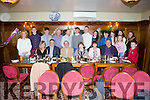 Celebrating their 50th wedding anniversary was Patsy and Marie Sweeney from Abbeyfeale, pictured here with family and friends last Saturday night in Leen's Hotel, Abbeyfeale.