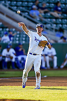 Brock Carpenter (23) of the Ogden Raptors during the game against the Grand Junction Rockies in Pioneer League action at Lindquist Field on June 20, 2016 in Ogden, Utah. The Rockies defeated the Raptors 5-2. (Stephen Smith/Four Seam Images)