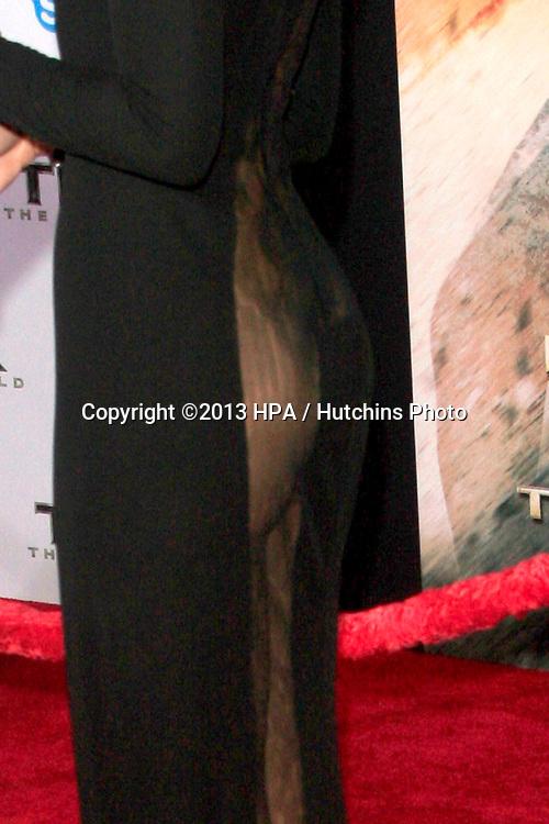 LOS ANGELES - NOV 4:  Jaimie Alexander at the Thor: The Dark World' Premiere at El Capitan Theater on November 4, 2013 in Los Angeles, CA