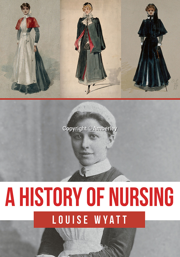 BNPS.co.uk (01202 558833)<br /> Pic: Amberley/BNPS<br /> <br /> Pictured: The book, A History of Nursing by Louise Wyatt<br /> <br /> These rarely seen photos which provide a fascinating insight into British nursing in late 19th century feature in a new book.<br /> <br /> They reveal how the all-action nurses not only cared for patients but also prepared meals for them and did their laundry.<br /> <br /> Such was their ferocious work ethic, it is perhaps surprising they had time to be pictured sitting down together in the nurses dining room.<br /> <br /> One photo shows trainee nurses during a bandaging class, while another is of a busy male ward.<br /> <br /> The images are published in A History of Nursing, by former nurse Louise Wyatt who has charted the development of nursing from antiquity and the Middle Ages to the present day.
