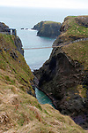 Carrick a rede bridge in Northern Ireland.<br /> Photo: Don MacMonagle <br /> e: info@macmonagle.com