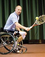 4-1-09, Renkum, NK rolstoeltennis,   Ronald Vink
