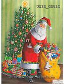 Ingrid, CHRISTMAS SANTA, SNOWMAN, WEIHNACHTSMÄNNER, SCHNEEMÄNNER, PAPÁ NOEL, MUÑECOS DE NIEVE, paintings+++++,USISGS81C,#X# vintage