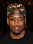 Bryan Terrell Clark during their #EduHam photo shoot on January 31, 2018 at the Richard Rodgers Theatre in New York City.