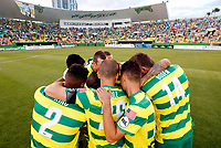 MARCH 25, 2017 - ST. PETERSBURG, FLORIDA: The Tampa Bay Rowdies match against Orlando City B at Al Lang Field. The Rowdies won the match 1-0. Photo by Matt May/Tampa Bay Rowdies