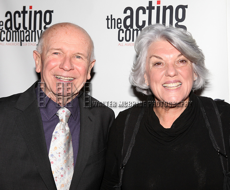 Terrence McNally & Tyne Daly.attending the After Party for  'Angela Lansbury and Friends Salute Terrence McNally' - A Benefit for the Acting Company in New York City.