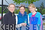 Sarah Benner, Ciara Morgan and Laura O'Connell taking part in the Kerry Hospice Foundation Good Friday Walk at the Brandon hotel, Tralee on Friday.