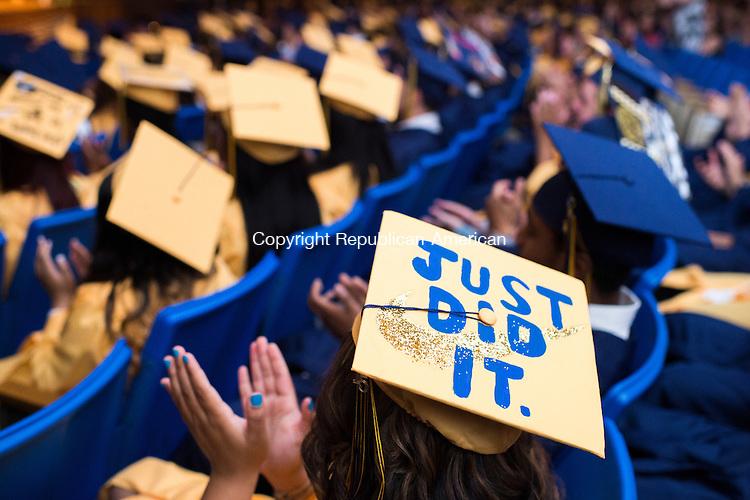 WATERBURY, CT-19 June 2015-061915EC09-  Kennedy's High School graduation Friday night. Erin Covey Republican-American