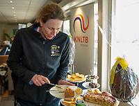 Hilversum, The Netherlands, March 12, 2016,  Tulip Tennis Center, NOVK, High Tea, Carole de Bruin<br /> Photo: Tennisimages/Henk Koster