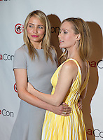 LAS VEGAS, NV - March 27: Cameron Diaz and Leslie Mann pictured arriving at 20th Century Fox Presentation at Cinemacon 2014 at Caesars Palace in Las Vegas, NV on March 27, 2014. © Kabik/ Starlitepics