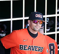Mitch Canham, head coach - 2020 Oregon State Beavers (Bill Mitchell)