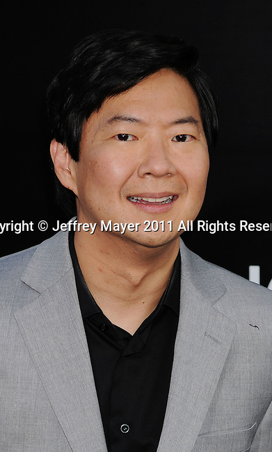 """HOLLYWOOD, CA - MAY 19: Ken Jeong  arrives at the Los Angeles premiere of """"The Hangover Part II"""" at Grauman's Chinese Theatre on May 19, 2011 in Hollywood, California."""