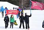 FRANCONIA, NH - MARCH 11:   Fans walk to viewing areas during Men's 20K Freestyle event at the Division I Men's and Women's Skiing Championships held at Jackson Ski Touring on March 11, 2017 in Jackson, New Hampshire. (Photo by Gil Talbot/NCAA Photos via Getty Images)