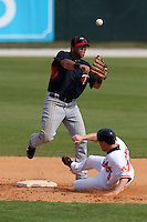 March 8, 2010:  Steve Singleton of the Minnesota Twins during a Spring Training game at Ed Smith Stadium in Sarasota, FL.  Photo By Mike Janes/Four Seam Images