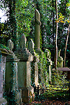 The disarray -  Highgate Cemetery London