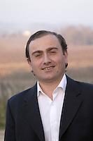 Thierry Capdemourlin, owner. Chateau Balestard la Tonnelle, Saint Emilion, Bordeaux, France