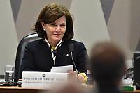 BRASÍLIA, DF, 12.07.2017 - SABATINA-CCJ - A indicada a Procuradoria Geral da República, Raquel Dodge durante sua sabatina na CCJ do Senado nesta quarta-feira, 12, no Senado Federal. (Foto: Ricardo Botelho/Brazil Photo Press)