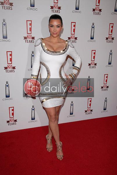 Kimberly Kardashian<br /> at E!'s 20th Birthday Bash Celebrating Two Decades of Pop Culture, The London, West Hollywood, CA. 05-24-10<br /> David Edwards/DailyCeleb.Com 818-249-4998