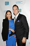 LOS ANGELES - DEC 4: Tamara Mowry, Adam Housley at The Actors Fund's Looking Ahead Awards at the Taglyan Complex on December 4, 2014 in Los Angeles, California