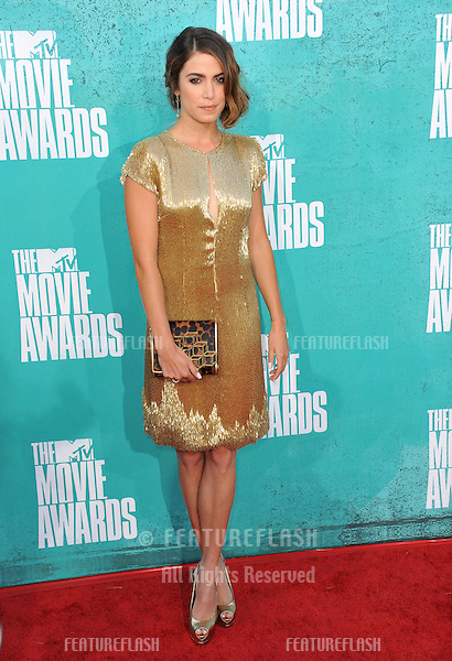 Nikki Reed at the 2012 MTV Movie Awards at Universal Studios, Hollywood..June 4, 2012  Los Angeles, CA.Picture: Paul Smith / Featureflash