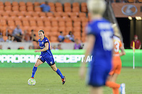 Houston, TX - Sunday Sept. 25, 2016: Kendall Fletcher during a regular season National Women's Soccer League (NWSL) match between the Houston Dash and the Seattle Reign FC at BBVA Compass Stadium.