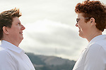 Melitta and Brande's 1/11/14 Benicia 9th Street Beach Wedding and preparations at Arian Nail Spa.<br /> Congratulations!